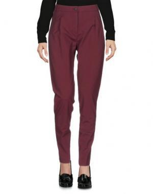 Повседневные брюки ARGONNE. Цвет: красно-коричневый