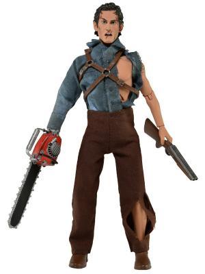 Фигурка-кукла Evil Dead 2 Hero Ash - Retro Style Neca. Цвет: темно-коричневый, красный, светло-коричневый, серо-голубой