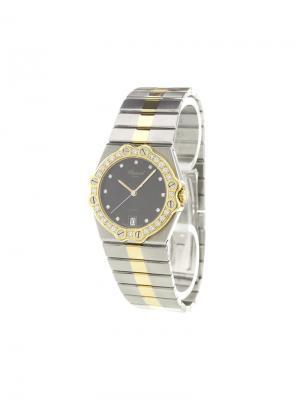 St. Moritz analog watch Chopard. Цвет: чёрный