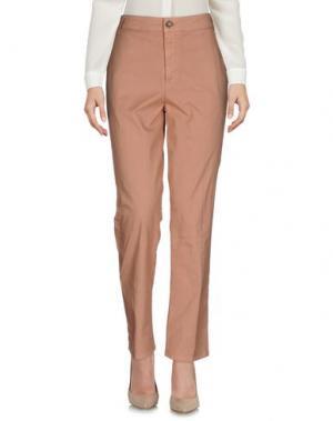 Повседневные брюки SONIA DE NISCO. Цвет: коричневый