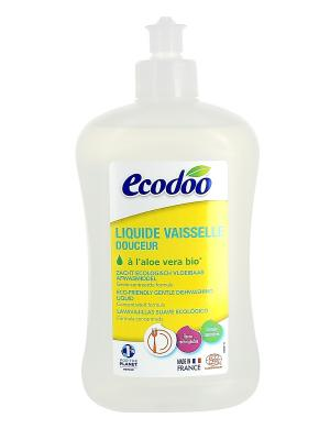 Ecodoo Средство Для Мытья Посуды С Алоэ Вера, Флакон 500 Мл. Цвет: прозрачный, светло-коричневый