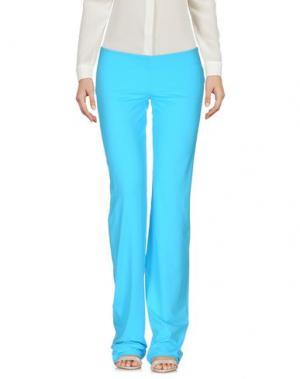 Повседневные брюки FISICO. Цвет: небесно-голубой