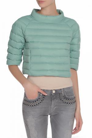 Куртка-накидка PINKO TAG. Цвет: зеленый