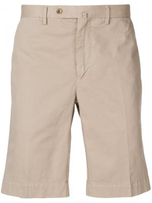 Chino shorts Hackett. Цвет: телесный