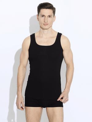 Майка мужская UCS. Цвет: черный