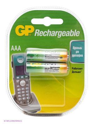 Аккумулятор NiMH 65AAAHC 650mAh AAA GP. Цвет: серебристый