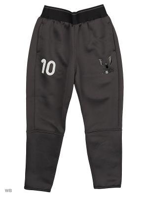 Трикотажные брюки дет. спорт. YB MESSI TIRO  UTIBLK/WHITE Adidas. Цвет: темно-серый, черный