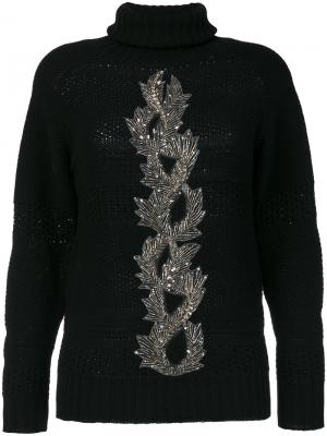 Embellished sweater Jo No Fui. Цвет: чёрный