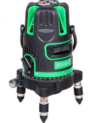 Построитель лазерных плоскостей INSTRUMAX GREENLINER 4V. Цвет: черный, синий