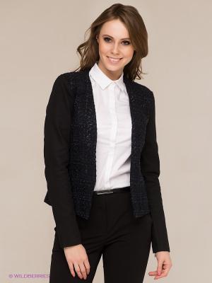 Жакет Vero moda. Цвет: черный, синий