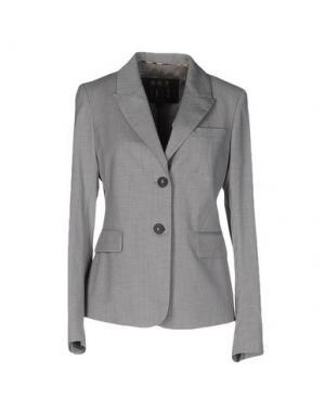 Пиджак DAKS LONDON. Цвет: серый