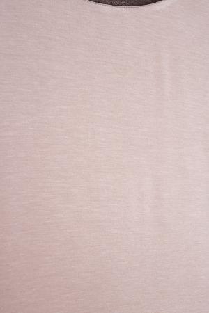 Топ из шерсти и хлопка VIKTORIA IRBAIEVA. Цвет: розовый