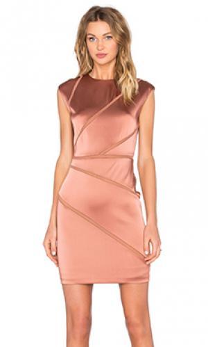 Платье vordelik Bailey 44. Цвет: металлический медный