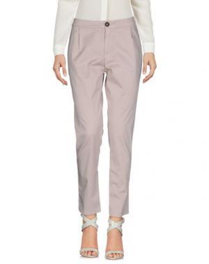 Повседневные брюки E_GO' SONIA DE NISCO. Цвет: голубиный серый