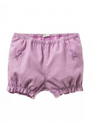 Шорты United Colors of Benetton. Цвет: сиреневый, бледно-розовый, серый