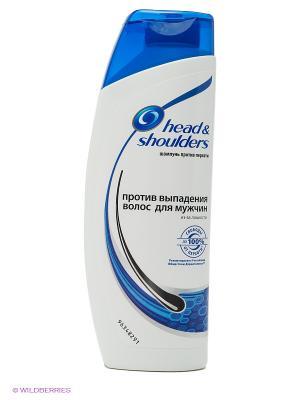 Шампунь против перхоти, выпадения волос для мужчин HEAD & SHOULDERS. Цвет: белый