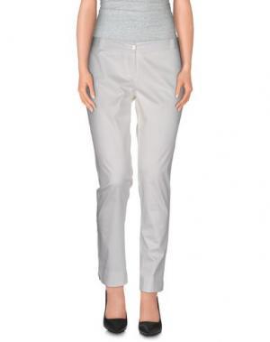 Повседневные брюки ALFONSO RAY. Цвет: белый