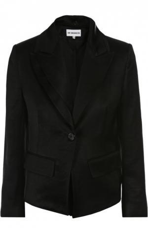 Пиджак с воротником Ann Demeulemeester. Цвет: черный