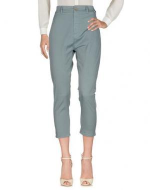 Повседневные брюки NOVEMB3R. Цвет: небесно-голубой