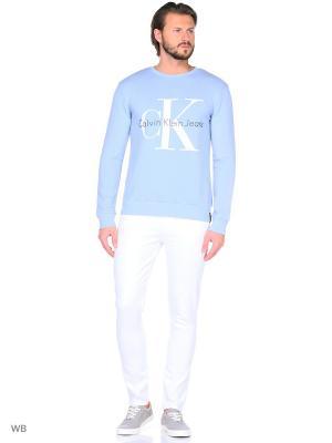 Брюки Calvin Klein. Цвет: белый
