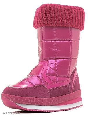 Дутики Let,s. Цвет: розовый