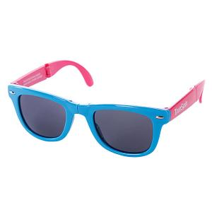 Очки True Spin Folding Sunglasses Blue/Pink TrueSpin. Цвет: голубой,розовый