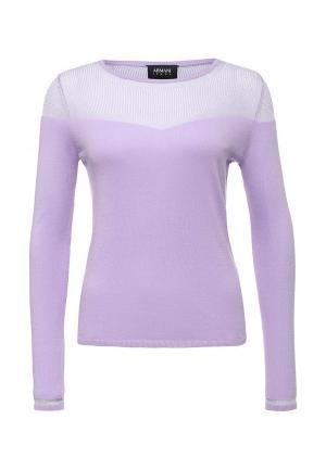 Джемпер Armani Jeans. Цвет: фиолетовый