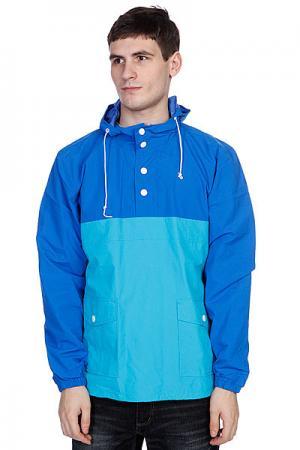 Анорак  Poolover Blue Enjoi. Цвет: голубой,синий
