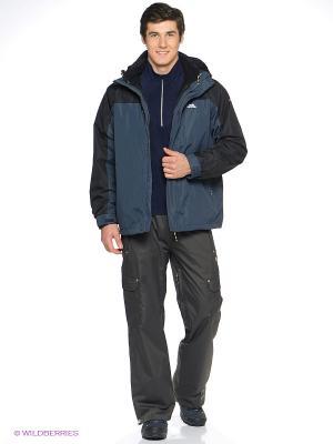 Куртка Trespass. Цвет: синий, серый