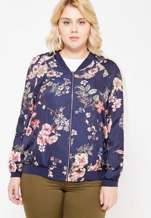 Куртка Violeta by Mango. Цвет: синий