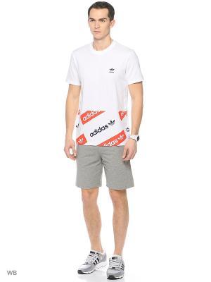 Футболка спортивная муж. T-SHIRTS 1 LOND  WHITE Adidas. Цвет: белый