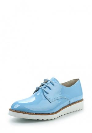 Ботинки Bambu Europa. Цвет: голубой