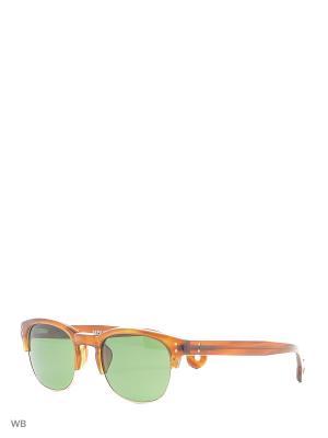 Солнцезащитные очки HS 508 42 HALLY & SON. Цвет: коричневый