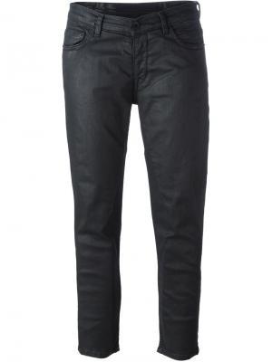 Укороченные джинсы Rick Owens DRKSHDW. Цвет: чёрный