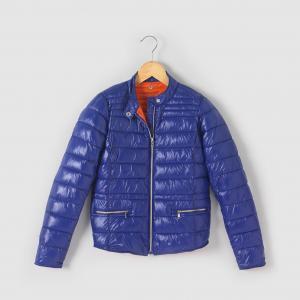 Стёганая куртка, лёгкая, на  10 - 16 лет R essentiel. Цвет: оранжевый