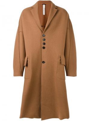 Пальто Copernico Damir Doma. Цвет: коричневый