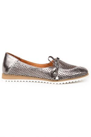 Туфли закрытые SpringWay. Цвет: бронза