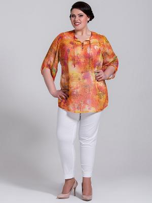 Блузка Silver-String. Цвет: оранжевый