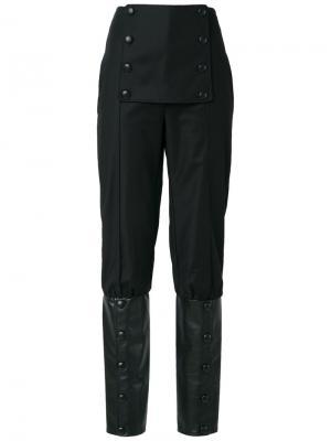 High waist trousers Adriana Degreas. Цвет: чёрный