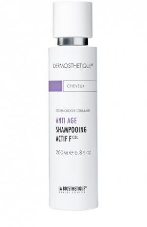 Клеточно-активный anti-age шампунь для тонких волос La Biosthetique. Цвет: бесцветный