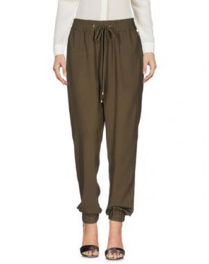 Повседневные брюки ANNA L.. Цвет: зеленый-милитари