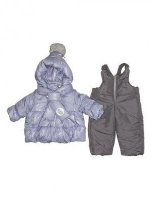 Куртка, полукомбинезон MaLeK BaBy. Цвет: сиреневый