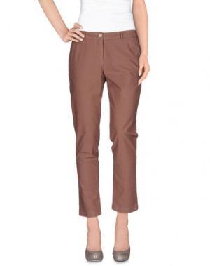 Повседневные брюки JECKERSON. Цвет: телесный
