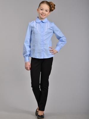 Блузка DESTY. Цвет: голубой
