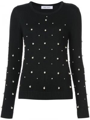 Pearl embellished jumper Prabal Gurung. Цвет: чёрный