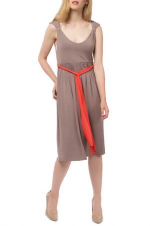 Dress LES ATELIERS DE LA MAILLE. Цвет: beige