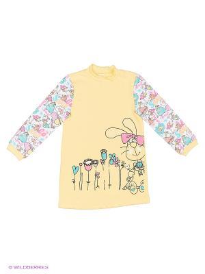 Сорочка ночная Свiтанак. Цвет: желтый
