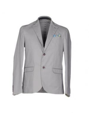Пиджак ROBERTO PEPE. Цвет: серый