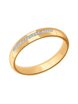 Обручальное кольцо SOKOLOV 110148/о