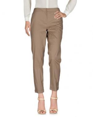 Повседневные брюки I BLUES. Цвет: светло-коричневый